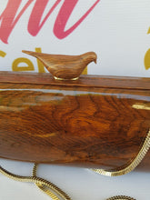Load image into Gallery viewer, Limited Edition Kate Spade Wooden Bird Clutch pawn online