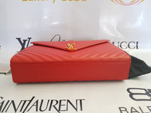 Load image into Gallery viewer, Authentic Ysl Saint Laurent monogramme envelope Large in caviar leather Gold hardware pawn philippines