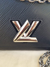 Load image into Gallery viewer, Authentic Louis Vuitton EPI Twist PM Noir consignment