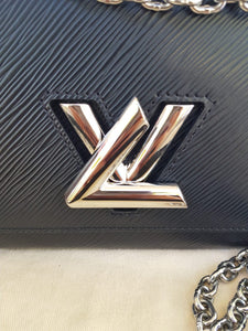 Authentic Louis Vuitton EPI Twist PM Noir consignment