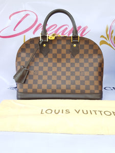 Authentic Louis Vuitton Alma pm Damier Ebene pawn online