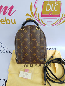Authentic Louis Vuitton Palmspring Mini backpack cebu