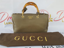 Load image into Gallery viewer, Gucci Bamboo Handbag Grained Leather philippines