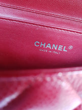 Load image into Gallery viewer, Authentic Chanel Jumbo Clutch Burgundy Red authentication services