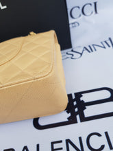 Load image into Gallery viewer, Authentic Chanel classic double flap medium in caviar leather Gold hardware buy and sell