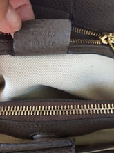 Load image into Gallery viewer, consign Gucci Bamboo Handbag Grained Leather