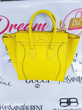 Load image into Gallery viewer, Authentic Celine mini luggage Citron pawn
