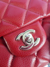 Load image into Gallery viewer, Authentic Chanel Jumbo Clutch Burgundy Red terms layaway