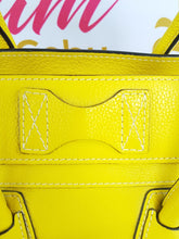 Load image into Gallery viewer, Authentic Celine mini luggage Citron monthly payments