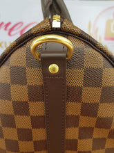 Load image into Gallery viewer, Brand new Authentic Louis Vuitton speedy 30 bandouliere damier ebene canvas cebu