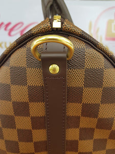Brand new Authentic Louis Vuitton speedy 30 bandouliere damier ebene canvas cebu
