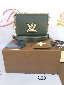 Authentic Louis Vuitton EPI Twist PM Noir pawn online