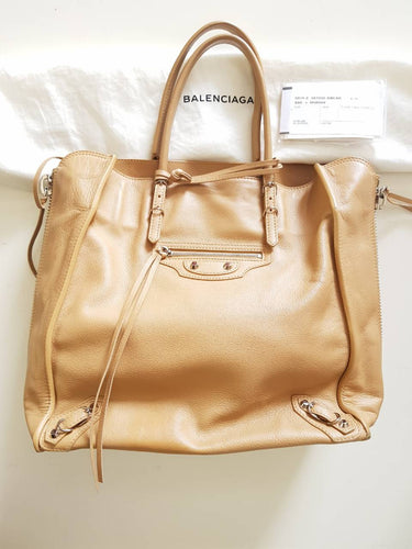 Authentic Balenciaga papier veau
