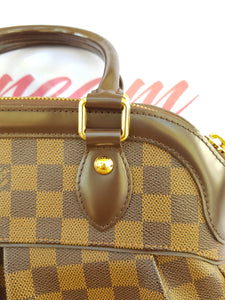 Authentic Louis Vuitton Trevi pm Damier Ebene seller ph