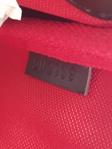 Authentic Louis Vuitton favorite mm damier ebene canvas seller