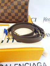 Load image into Gallery viewer, Brand new Authentic Louis Vuitton speedy 30 bandouliere damier ebene canvas makati
