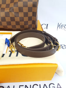 Brand new Authentic Louis Vuitton speedy 30 bandouliere damier ebene canvas makati