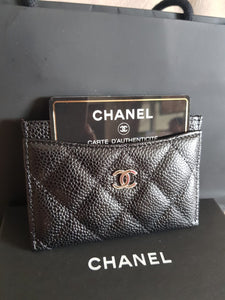 Chanel card case consignment services