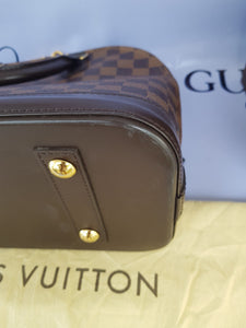 Authentic Louis Vuitton Alma pm Damier Ebene terms layaway