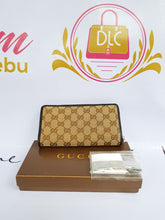 Load image into Gallery viewer, Authentic Gucci monogramme canvas long wallet philippines