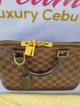 Load image into Gallery viewer, Authentic Louis Vuitton Alma pm Damier Ebene makati