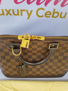 Authentic Louis Vuitton Alma pm Damier Ebene makati