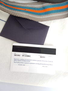 Authentic Prada Hobo card