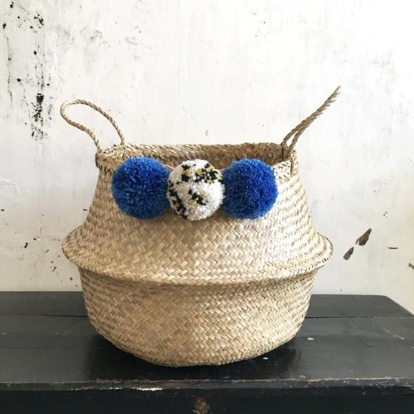 pom pom basket by Forest Fox