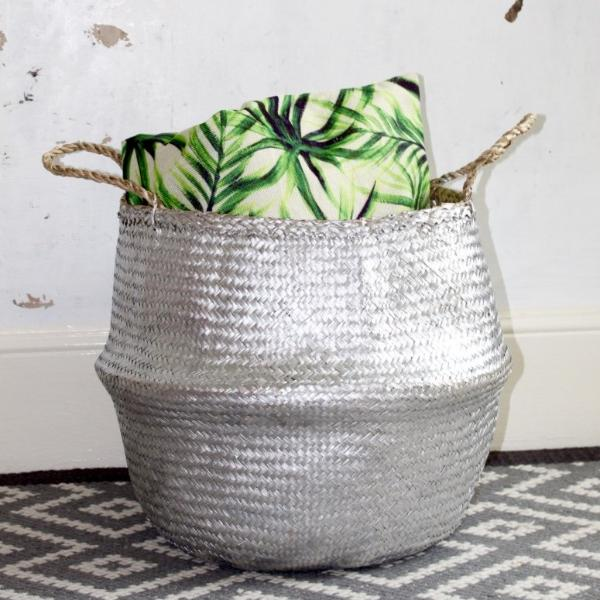 seagrass storage basket from Forest Fox