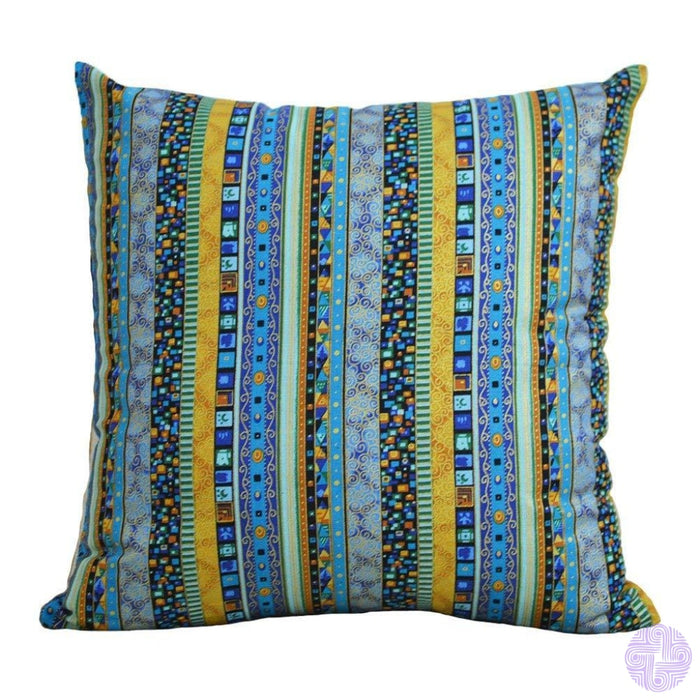 18 X Embroidered Throw Pillow Covers Bohemia Blue