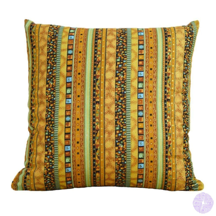 18 X Embroidered Throw Pillow Covers Bohemia Yellow