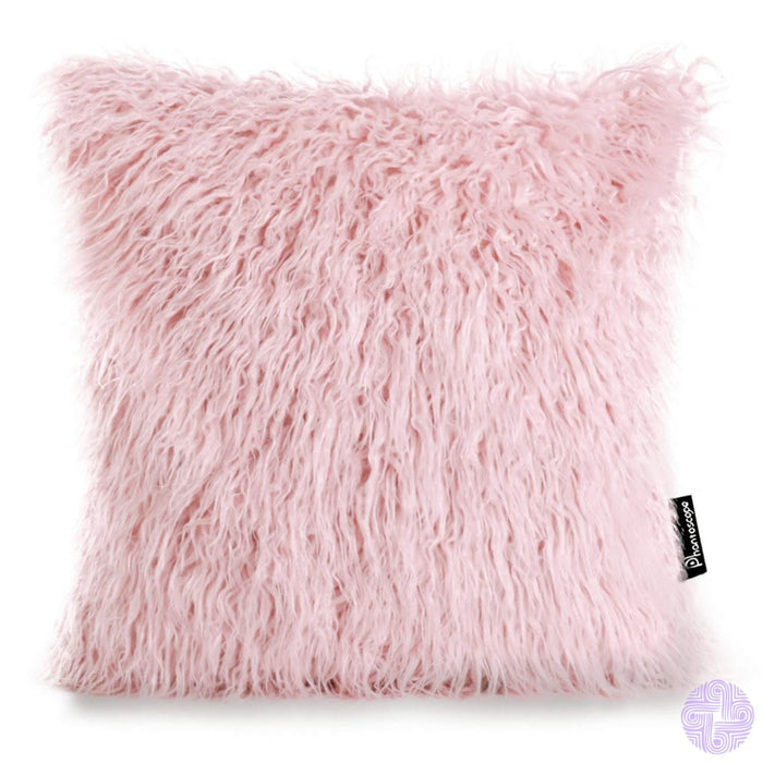 18 X Throw Pillow Covers In Faux Fur Velvet And Crochet Designs