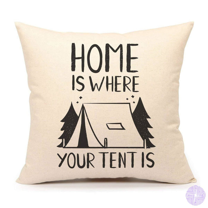 4Th Emotion Teepee Throw Pillow Case Funny Quotes Cushion Cover Cotton Linen 18 X Inch If You Need
