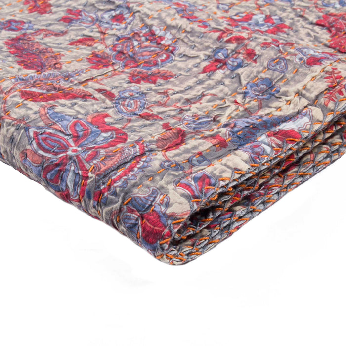 "Kantha Cotton Throw 50"" X 70"" - 1117-#05"