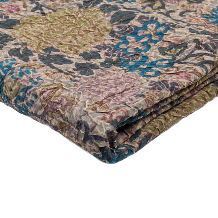 "Kantha Cotton Throw 50"" X 70"" - 1117-#12"