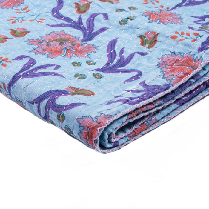 "Kantha Cotton Throw 50"" X 70"" - 1117-#21"