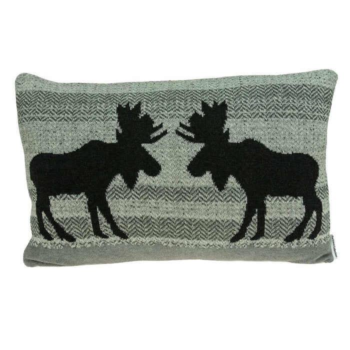 "24"" X 0.5"" X 16"" Lodge Gray Pillow Cover"