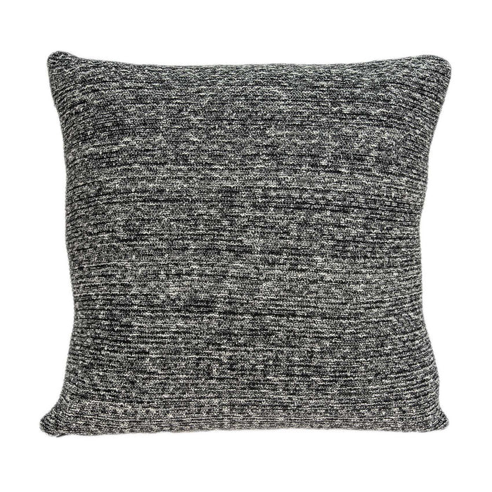 "20"" X 0.5"" X 20"" Stunning Transitional Gray Pillow Cover"