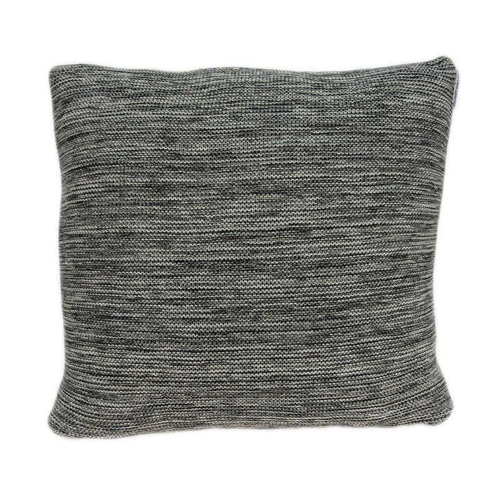 "20"" X 0.5"" X 20"" Elegant Transitional Gray Pillow Cover"