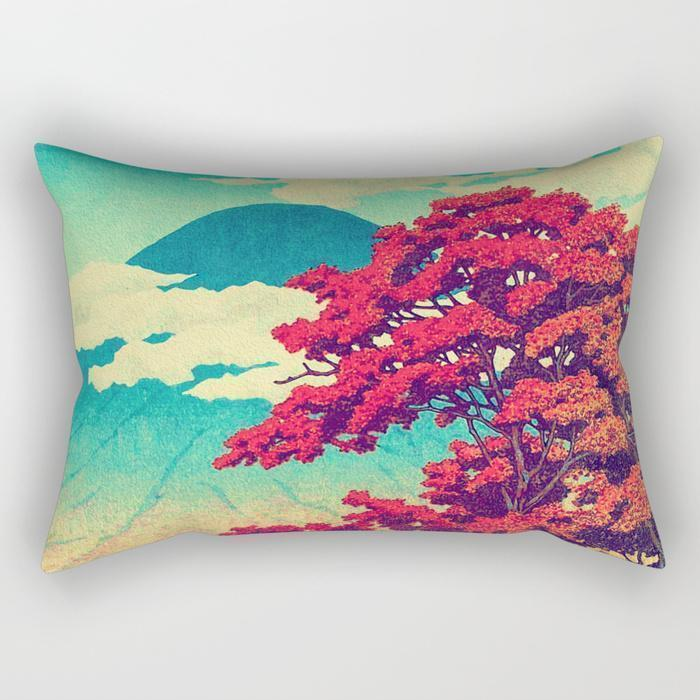 Beautiful Scenery Rectangle Pillow