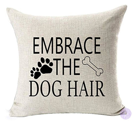 Best Dog Lover Gifts Nordic Warm Sweet Funny Sayings Embrace The Hair Bone Paw Prints Cotton Linen