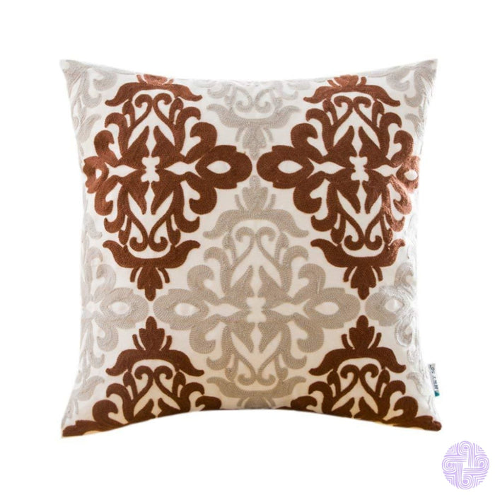Colorful Medallion Style Throw Pillow Covers