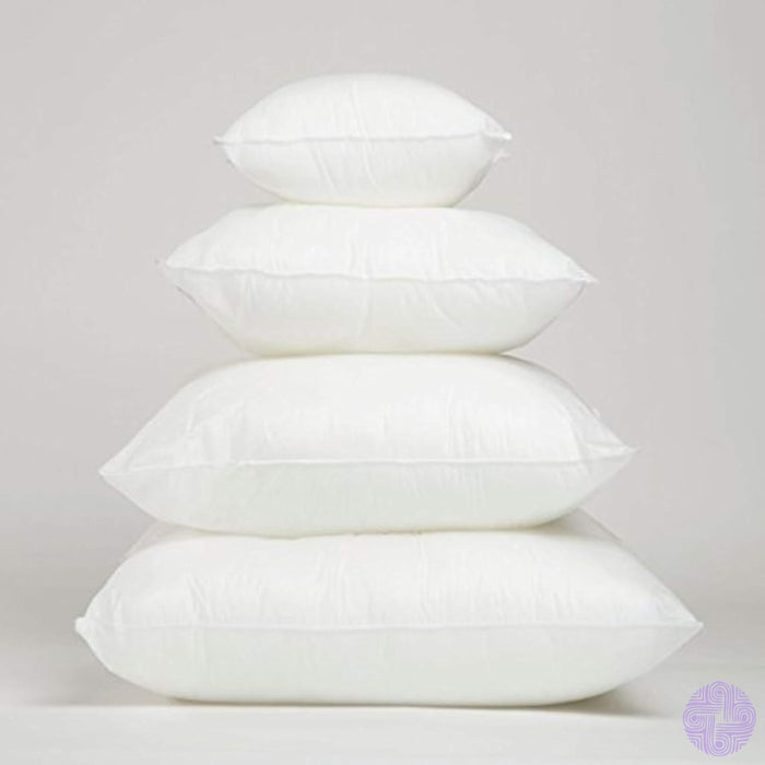 Foamily Premium Hypoallergenic Stuffer Pillow Insert Sham Square Form Polyester 12 L X W