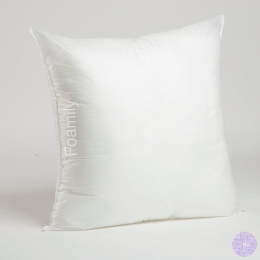 Foamily Premium Hypoallergenic Stuffer Pillow Insert Sham Square Form Polyester 18 L X W
