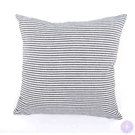 Jes&medis Linen Cotton Striped Pillow Case Throw Pillowcase Square 45Cm