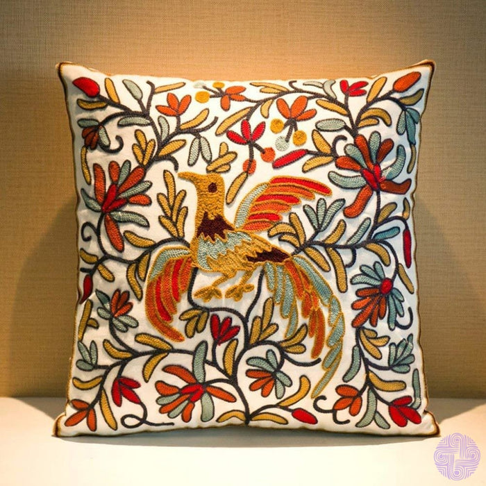 Memorecool Bohemia Exotic Style Pillow Sham Exquisite Stereoscopic Embroidered Cotton Throw Cover