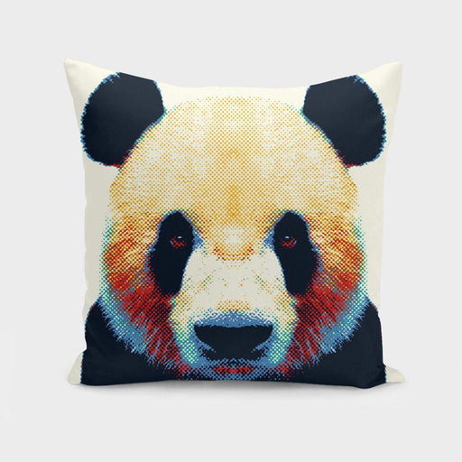 Panda - Colorful Animals  Cushion/Pillow