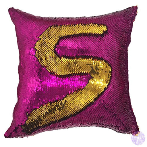 Your Smile Mermaid Throw Pillow Case Magic Reversible Sequins Decorative Cushion Cover Pillowcase