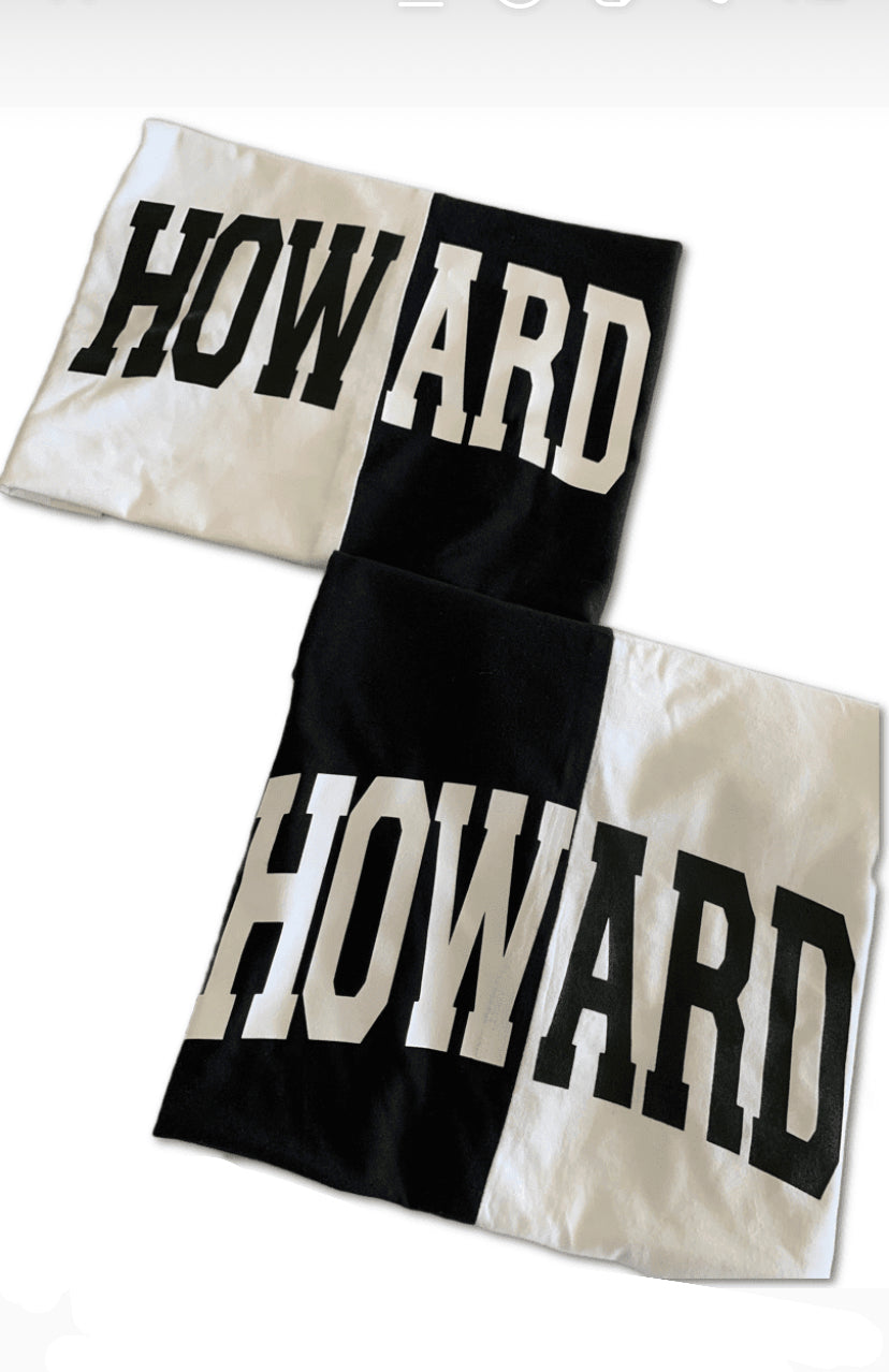 Black & White Short Sleeve Spliced Howard T-shirt