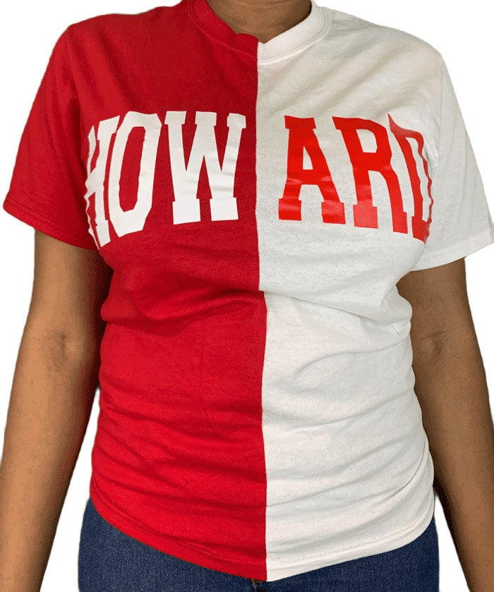 Crimson & White Spliced Howard T-Shirt